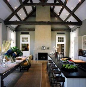 Beautiful hampton style kitchen designs ideas 40