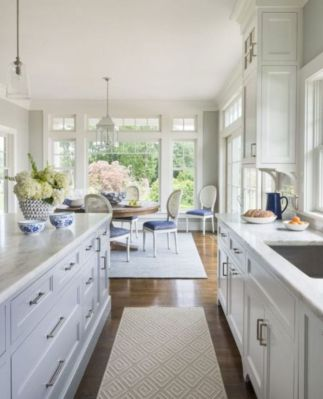 Beautiful hampton style kitchen designs ideas 48