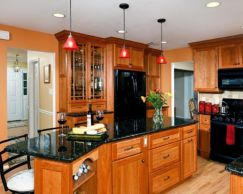 Beautiful kitchens ideas with black granite 10