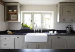 Beautiful kitchens ideas with black granite 14