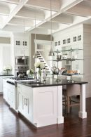 Beautiful kitchens ideas with black granite 21