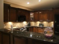 Beautiful kitchens ideas with black granite 25