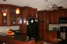 Beautiful kitchens ideas with black granite 31