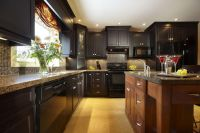Beautiful kitchens ideas with black granite 35