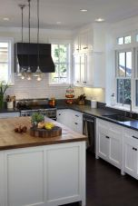 Beautiful kitchens ideas with black granite 47