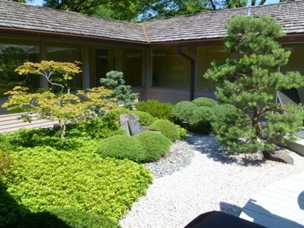 beautiful modern japanese garden