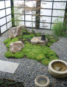 Beautiful modern japanese garden landscape ideas 08