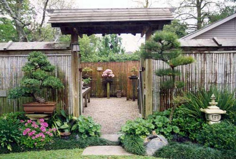 Beautiful modern japanese garden landscape ideas 14