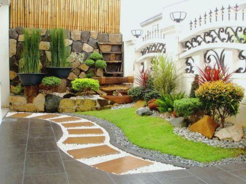Beautiful modern japanese garden landscape ideas 32