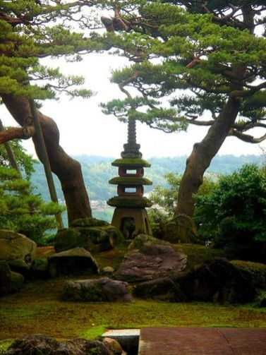 Beautiful modern japanese garden landscape ideas 37