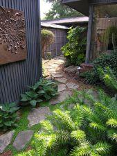 Beautiful modern japanese garden landscape ideas 43