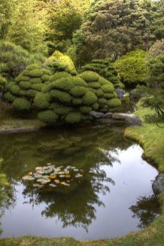 Beautiful modern japanese garden landscape ideas 45