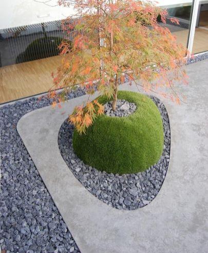 Beautiful modern japanese garden landscape ideas 49