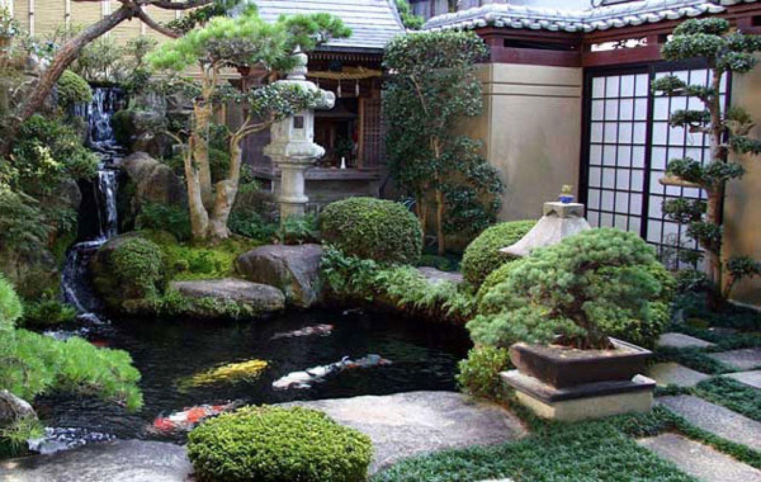 Beautiful modern japanese garden landscape ideas 63