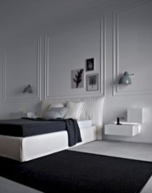 Black and white bedroom furniture 02