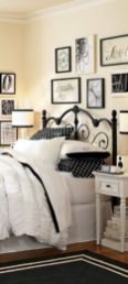 Black and white bedroom furniture 47