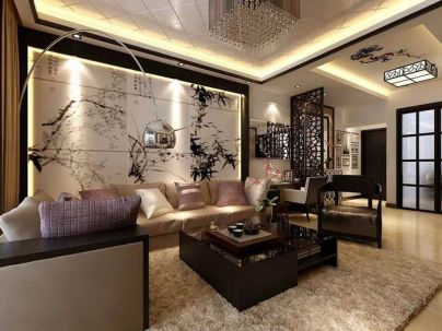 Cool decorating ideas for large living room wall 01