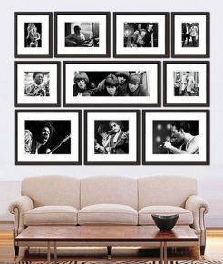 Cool decorating ideas for large living room wall 19