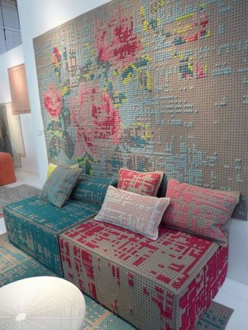Cool decorating ideas for large living room wall 34