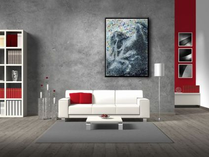 Cool decorating ideas for large living room wall 57