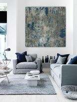 Cool decorating ideas for large living room wall 60