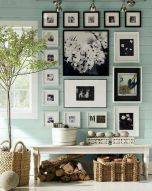 Cool decorating ideas for large living room wall 67