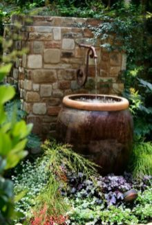 Cool ideas for garden fountains design you should try 39