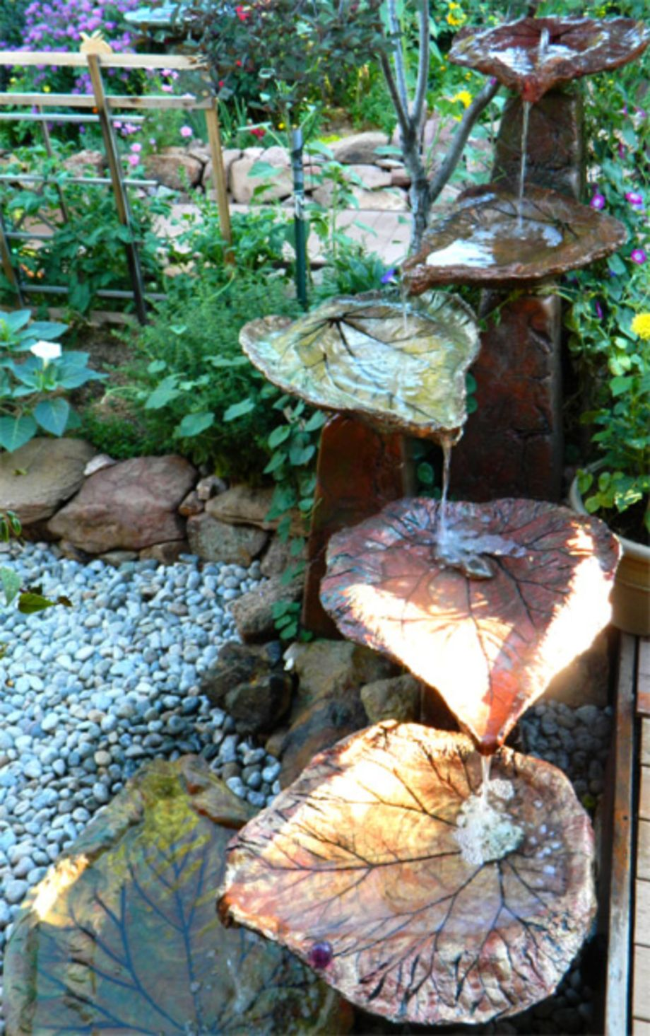 70 Cool Ideas For Garden Fountains Design You Should Try