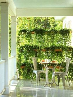 Creative front porch garden design ideas 04