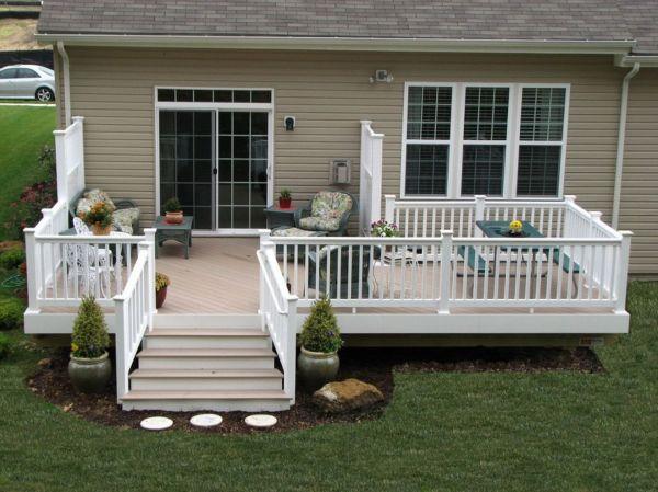 creative front porch garden