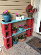 Creative front porch garden design ideas 57