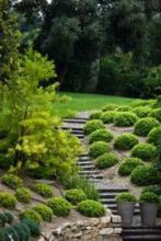 Creative garden design ideas for slopes 17