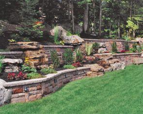 Creative garden design ideas for slopes 22