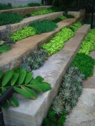 Creative garden design ideas for slopes 24