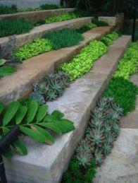 Creative garden design ideas for slopes 24