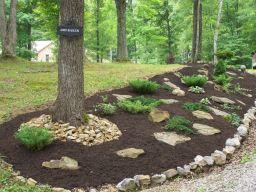Creative garden design ideas for slopes 53