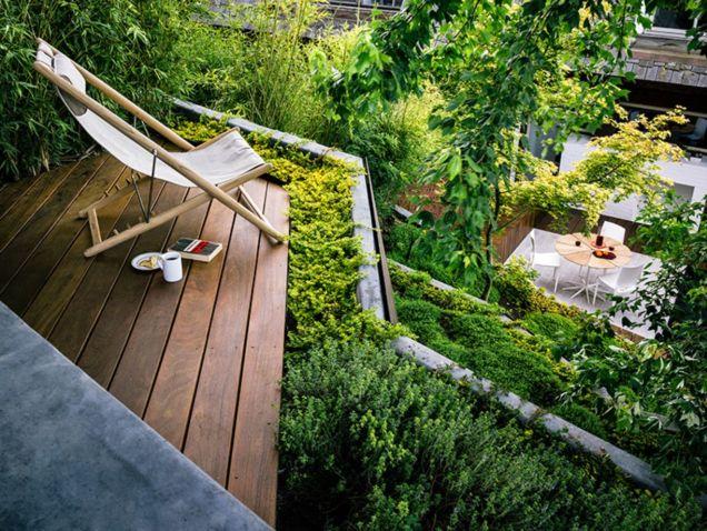 Creative garden design ideas for slopes 55