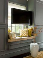 Creative ideas hiding a tv in the living room 42