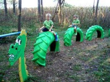 Cute and cool garden art for kids design ideas 02
