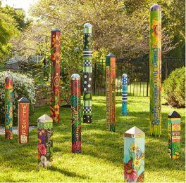 Cute and cool garden art for kids design ideas 07