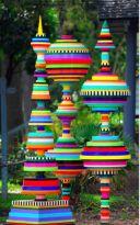 Cute and cool garden art for kids design ideas 19