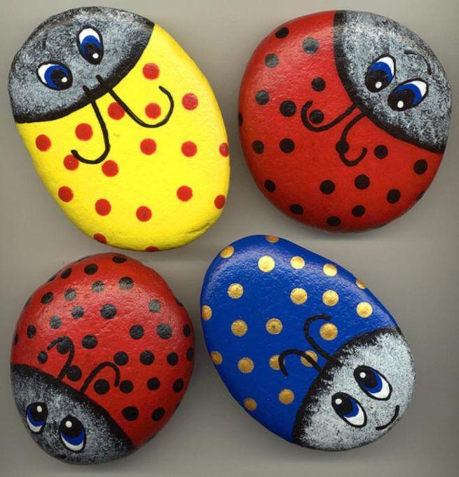 Cute and cool garden art for kids design ideas 44