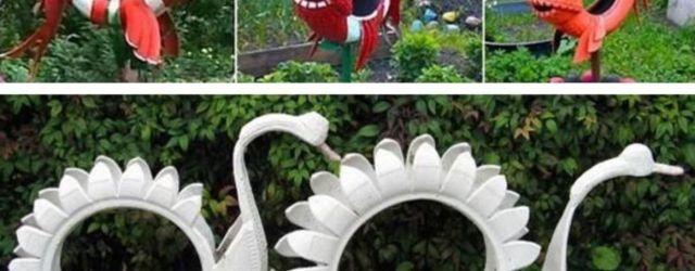 Cute and cool garden art for kids design ideas 48