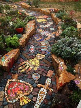 Cute and simple school garden design ideas 13