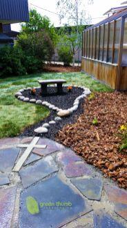 Cute and simple school garden design ideas 16