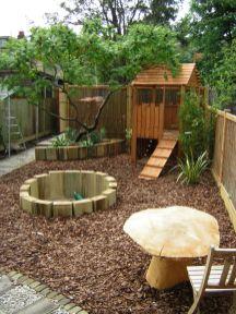 Cute and simple school garden design ideas 22