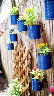 Cute and simple tiny patio garden ideas 76