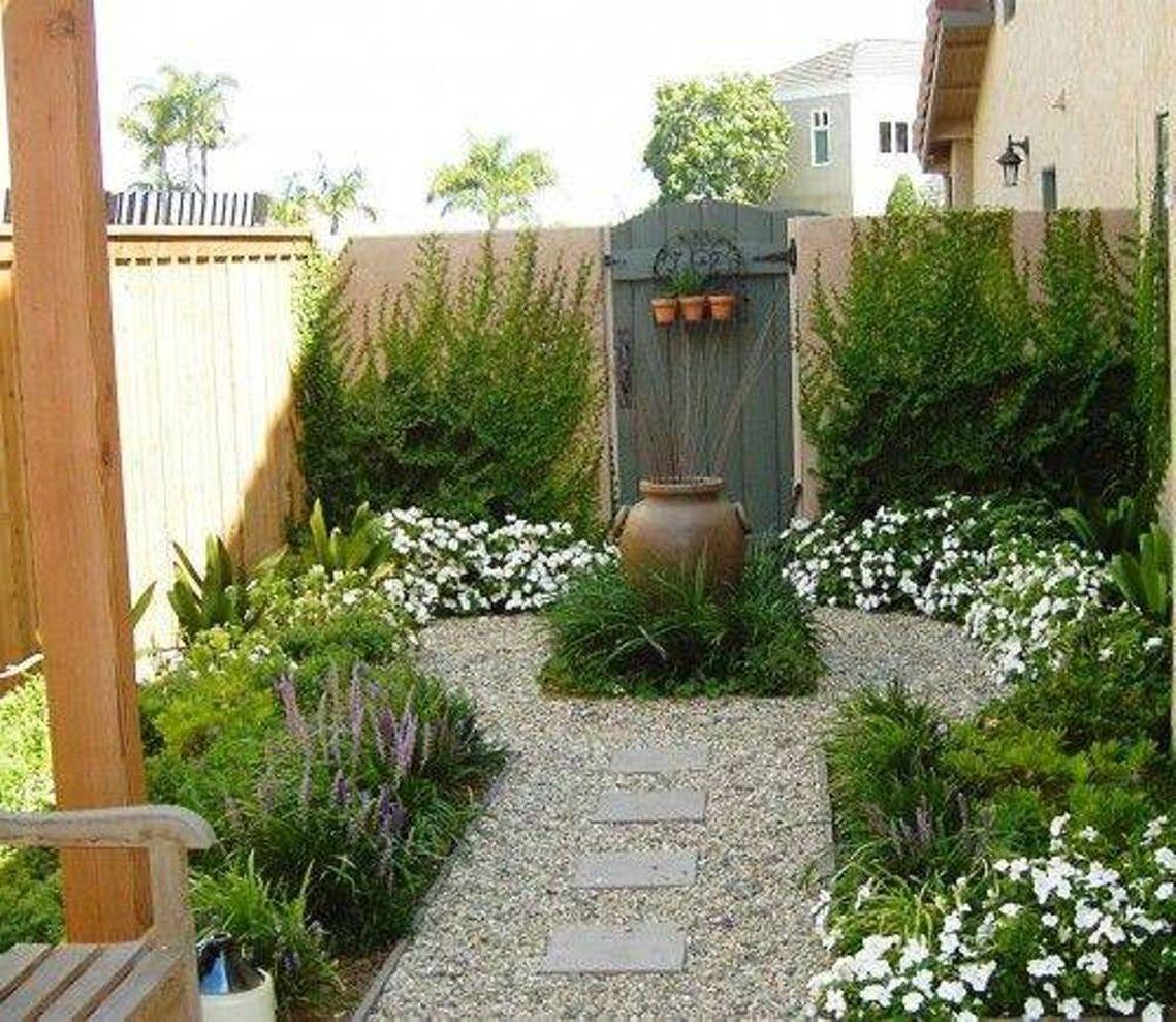 Cute and simple tiny patio garden ideas 84