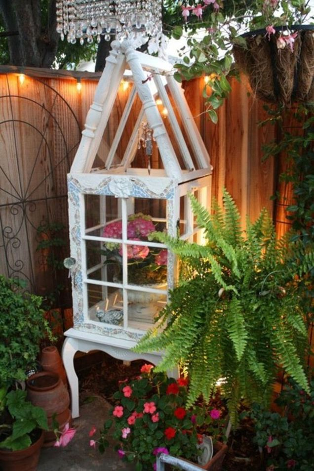 Cute and simple tiny patio garden ideas 87