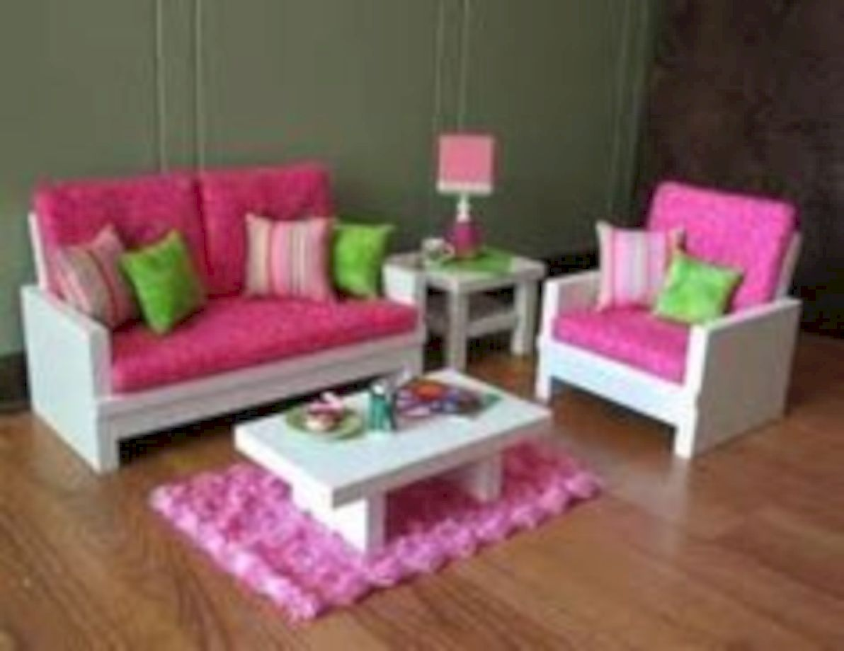 Delightful Diy Barbie Doll Furniture 05